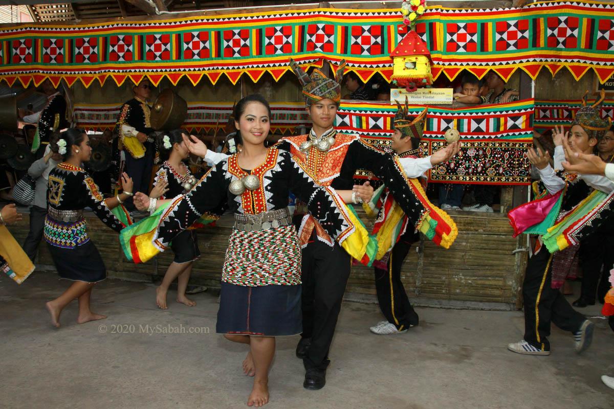 Dusun Tindal people from Kota Belud