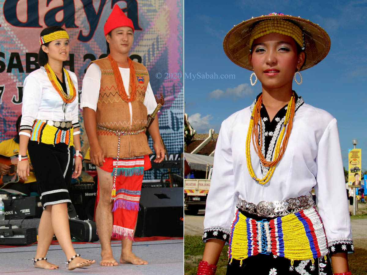 Traditional costume of Lundayeh people