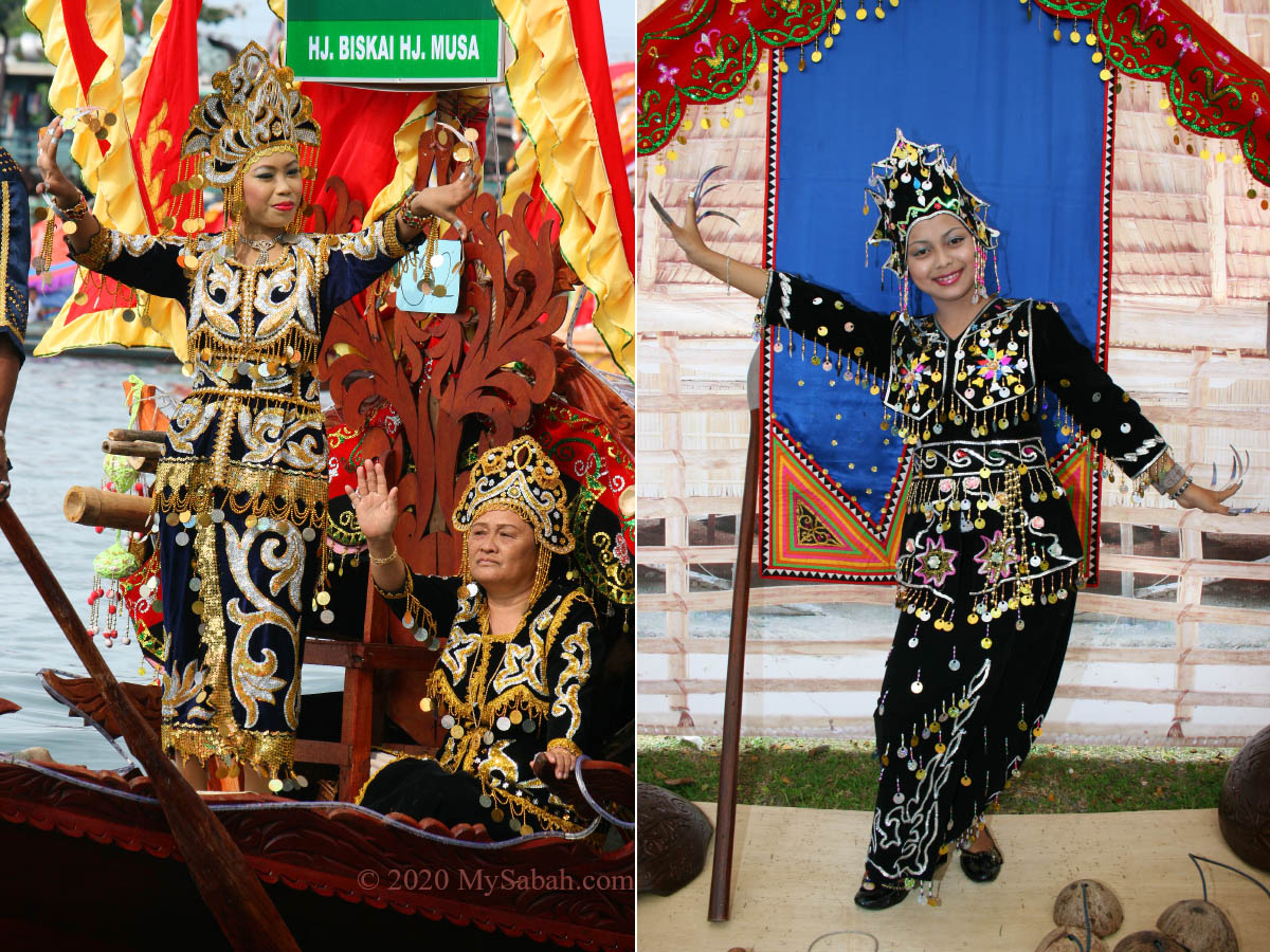 Traditional costume of Sea Bajau