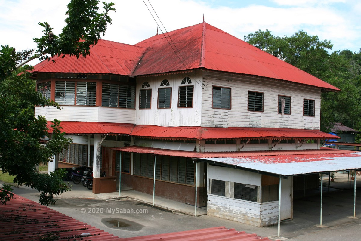 This building in Beaufort was used as a hospital by Japanese during WW2 and now gazetted by Sabah State Museum