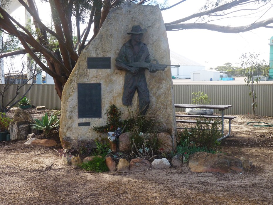 Starcevich VC Memorial in Australia (Grass Patch, WA)