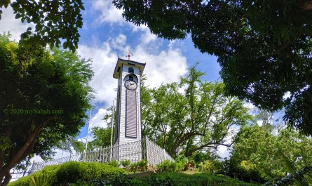 Atkinson Clock Tower of Kota Kinabalu City, Sabah, Malaysia