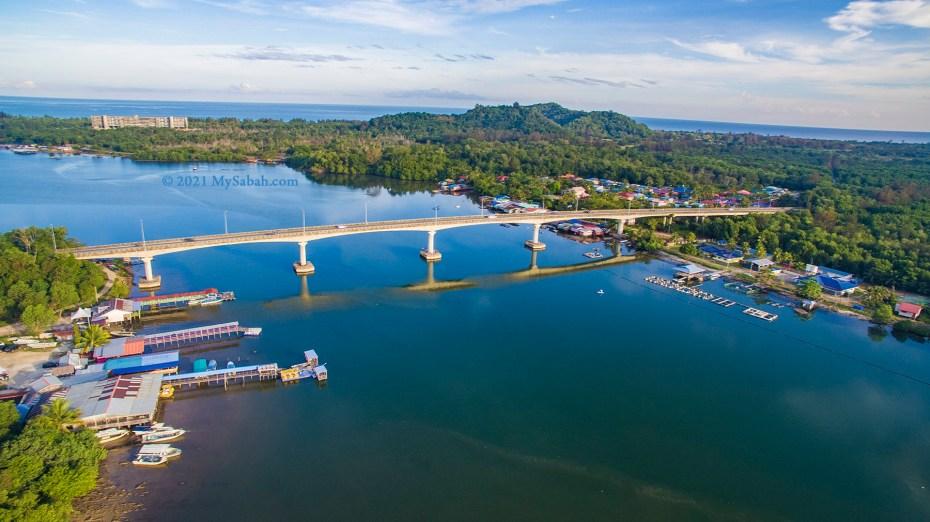 Mengkabong River Bridge