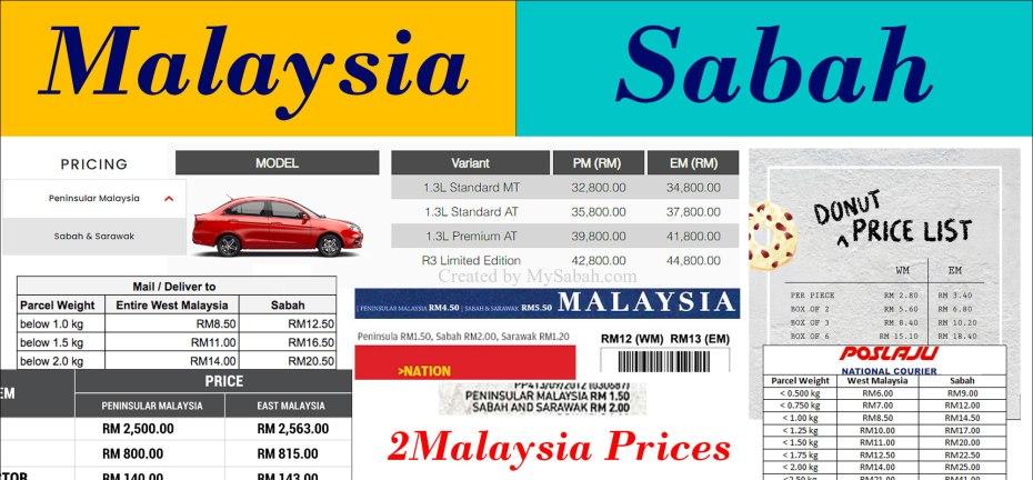 2Malaysia prices
