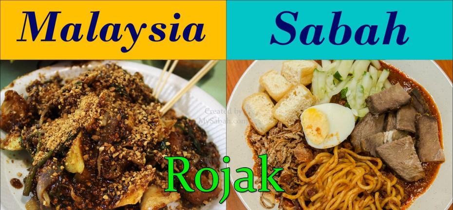 Malaysia and Sabah Rojak