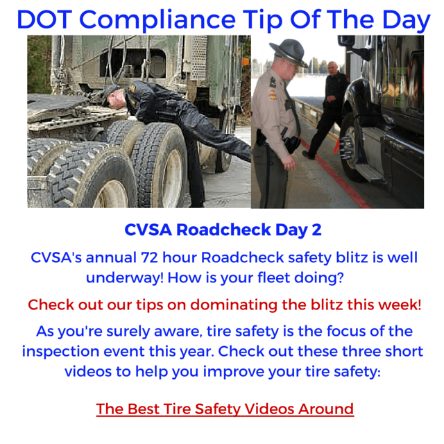 DCT- Tire Safety Videos