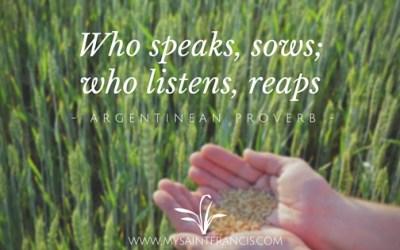 Leaders Listen to Learn …