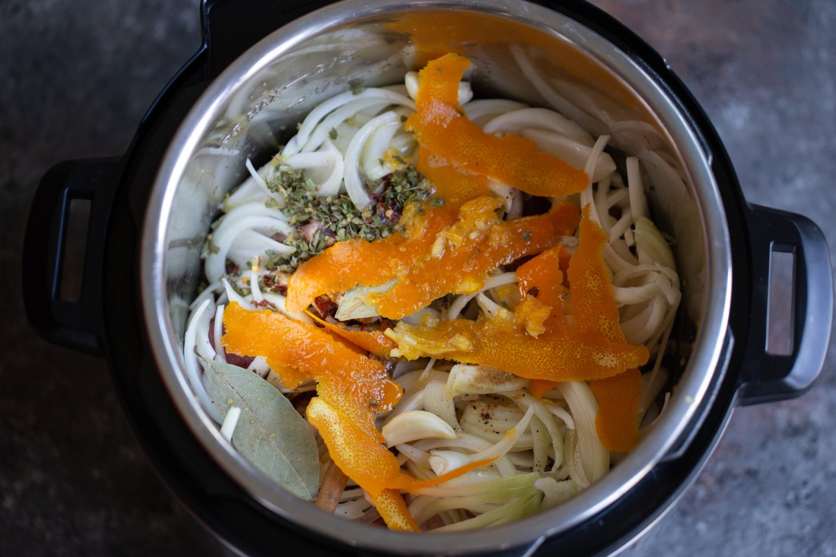 pork carnitas in the instant pot.