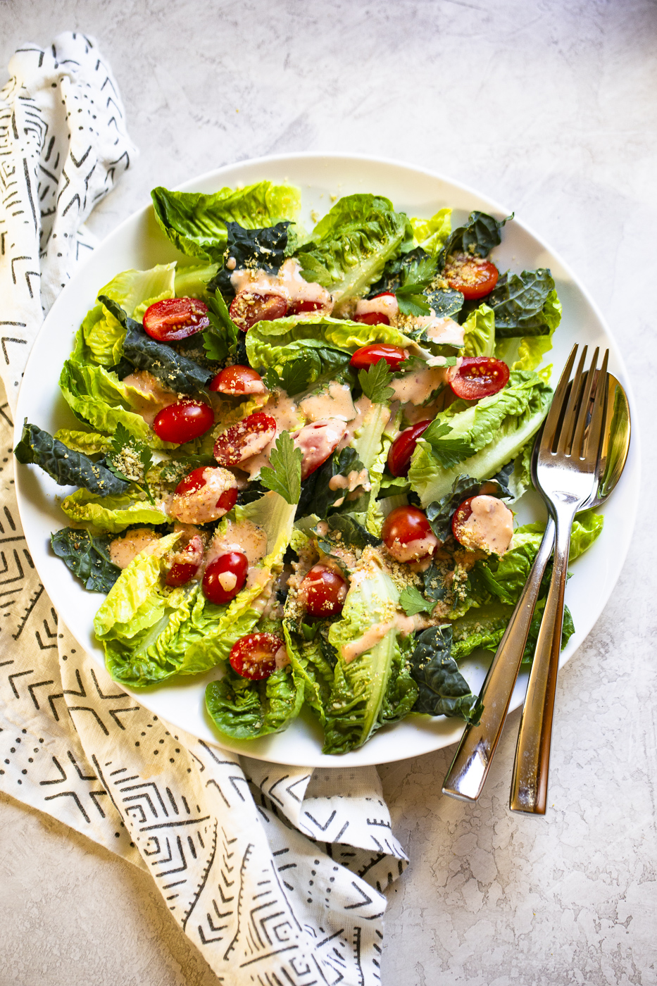 spicy caesar salad