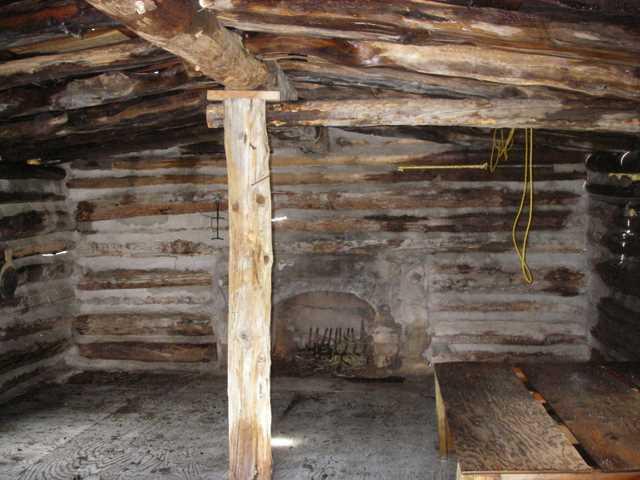 16 Interior Of Small Cabin Colorado Mountain Realty