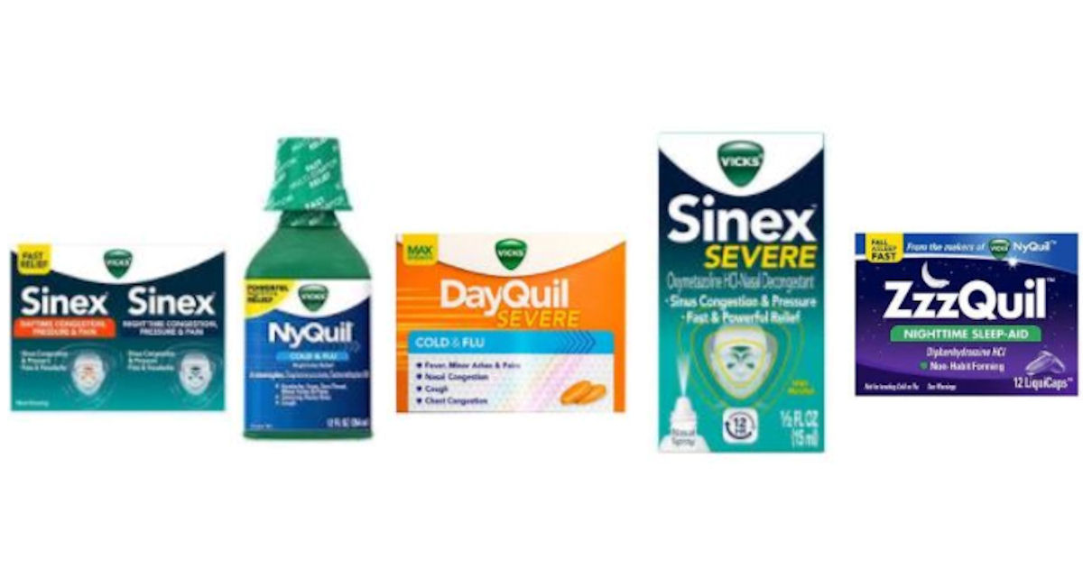 free dayquil nyquil sinex