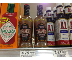 Tabanero Hot Sauce at Publix