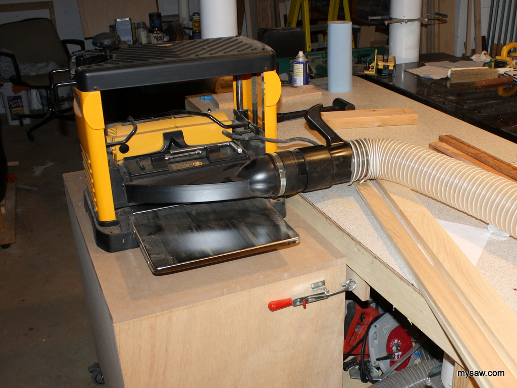 Planer Dust Collection