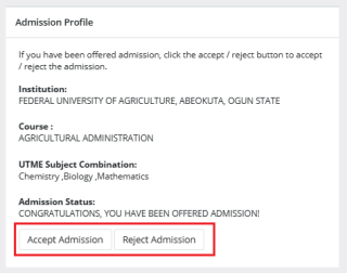 offered admission on jamb caps
