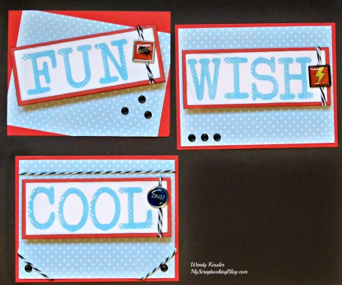 Non-Traditional Birthday Cards by Wendy Kessler