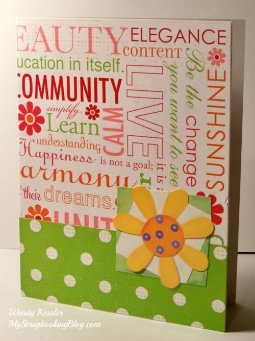 Sophia Card #23 by Wendy Kessler