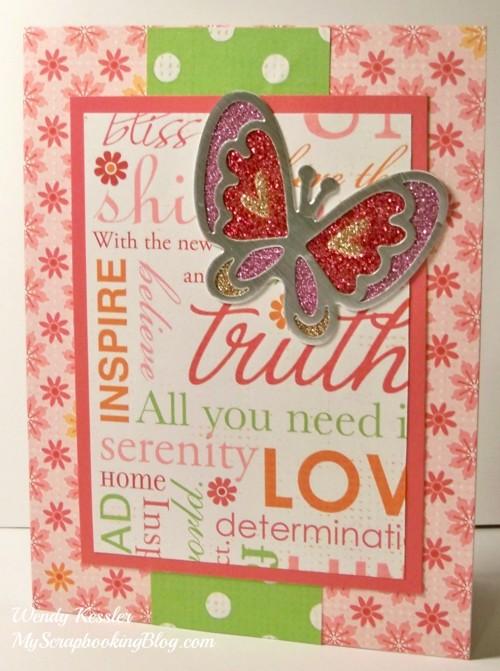 Sophia Card #31 by Wendy Kessler
