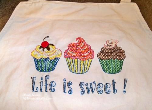 Cupcake Apron by Wendy Kessler