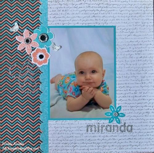 Miranda Layout by Wendy Kessler