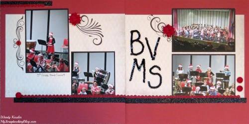 Band Layout by Wendy Kessler