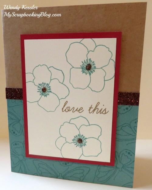 Love This card by Wendy Kessler