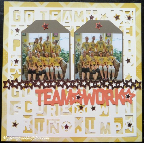 Teamwork Layout by Wendy Kessler