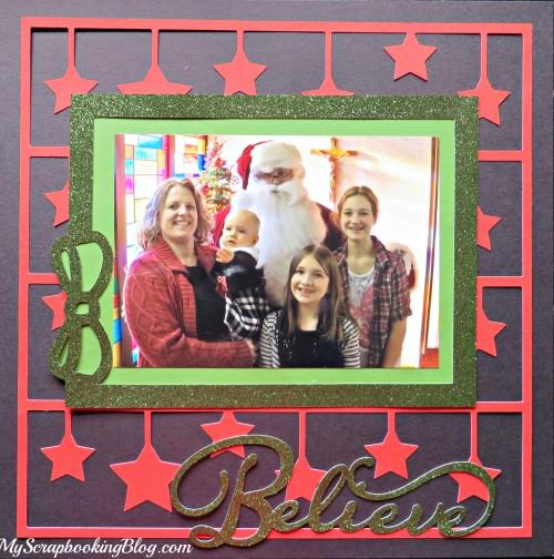 Believe Christmas Layout by Wendy Kessler