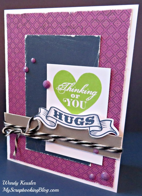 Thinking of You Laughing Lola Card by Wendy Kessler