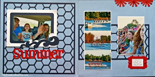 Summer Layout by Wendy Kessler