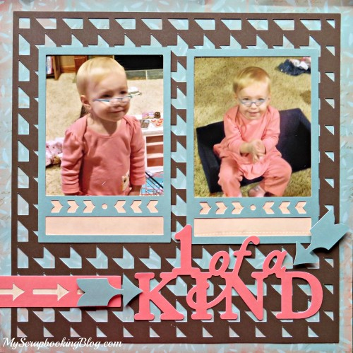 1 of a Kind Layout by Wendy Kessler
