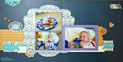So Lucky Layout by Wendy Kessler