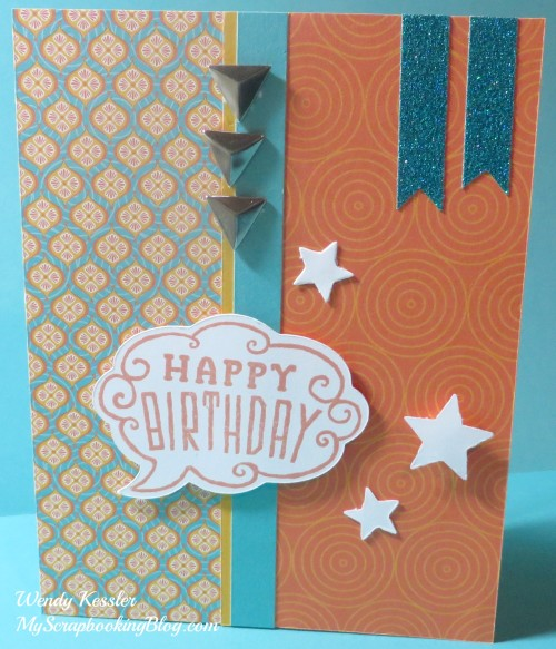 Cloud Nine Card 4 by Wendy Kessler