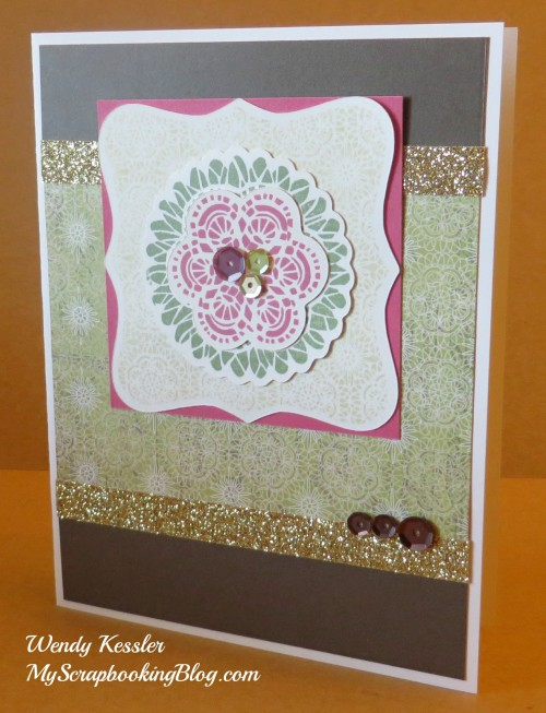 Ivy Lane Card 2 by Wendy Kessler