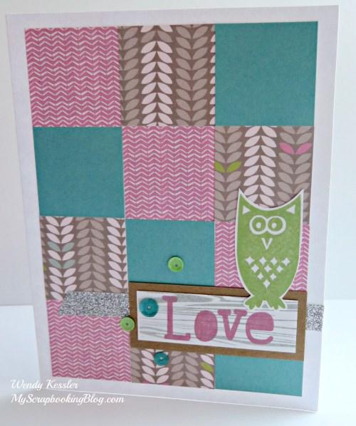 Lollydoodle Card 1 by Wendy Kessler