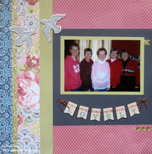 Lovely Ariana Layout by Wendy Kessler