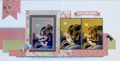 Chase Your Dreams Layout by Wendy Kessler
