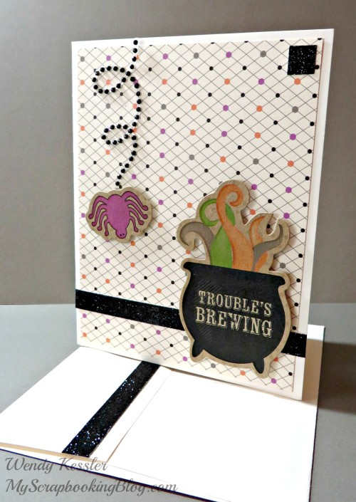 Trouble's Brewing Card by Wendy Kessler