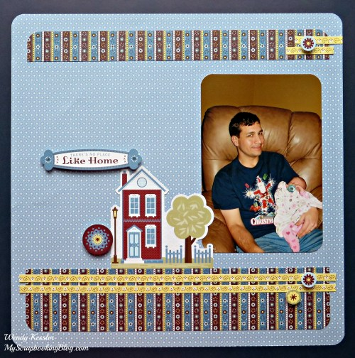 Like Home Layout by Wendy Kessler