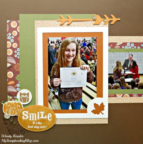 Best Day Ever Layout by Wendy Kessler
