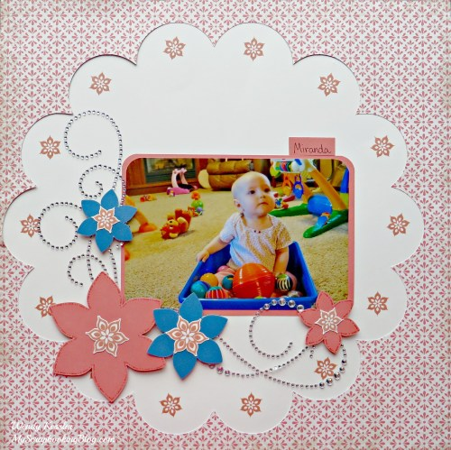 Flower Layout by Wendy Kessler