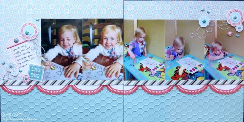 Coloring Layout by Wendy Kessler