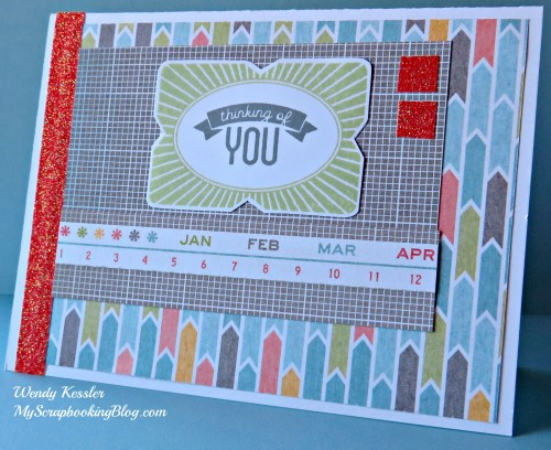 Thinking of You card by Wendy Kessler