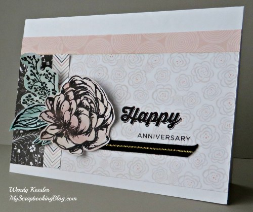 Happy Anniversary Card by Wendy Kessler