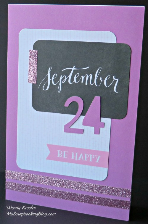 September Card by Wendy Kessler