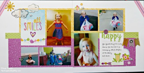 All Smiles Layout by Wendy Kessler