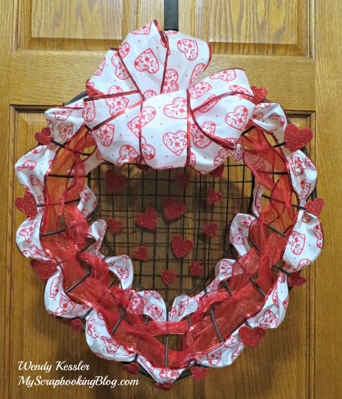 Valentine Wreath by Wendy Kessler
