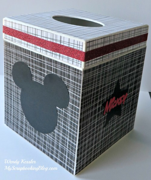 Mickey Mouse Kleenex Box by Wendy Kessler