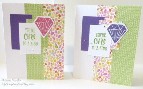 One of a Kind Cards by Wendy Kessler