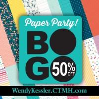 BOGO Paper Party