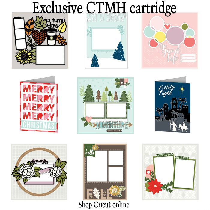 Complete Creativity Cricut cartridge, exclusive from CTMH